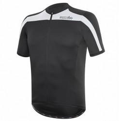 T-shirt cyclisme Zero Rh+ Space Homme noir-blanc