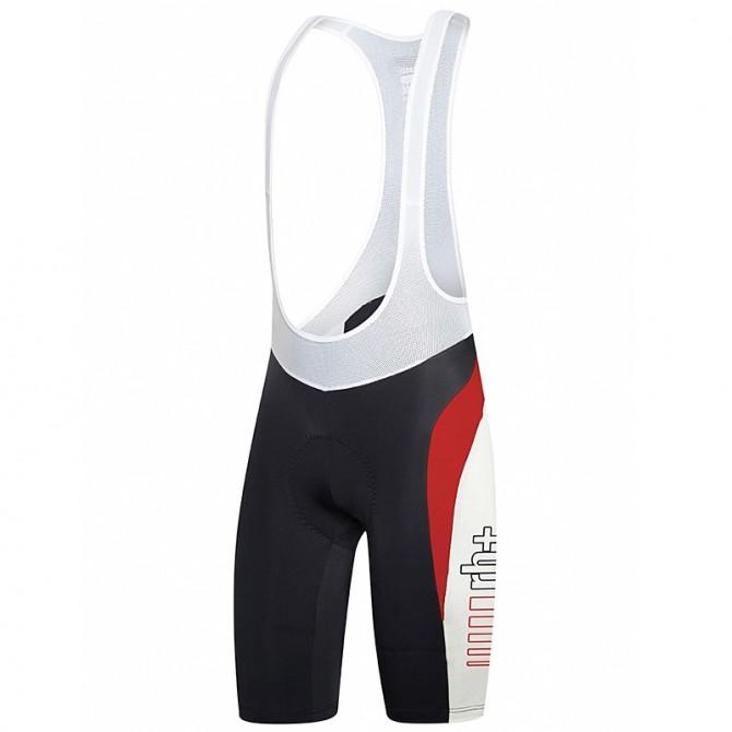 Salopette ciclismo Zero Rh+ Space Uomo nero-bianco-rosso