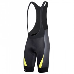 Mono ciclismo Zero Rh+ Shiver Hombre negro-amarillo