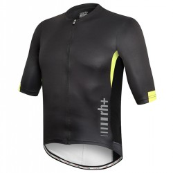 Bike t-shirt Zero Rh+ Shiver Man black-yellow