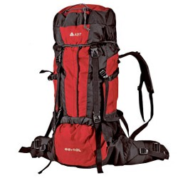 Trekking backpack Astrolabio Z59G red
