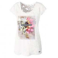 T-shirt Astrolabio CN8K Donna bianco