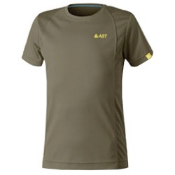 T-shirt trekking Astrolabio JP7U Junior verde scuro