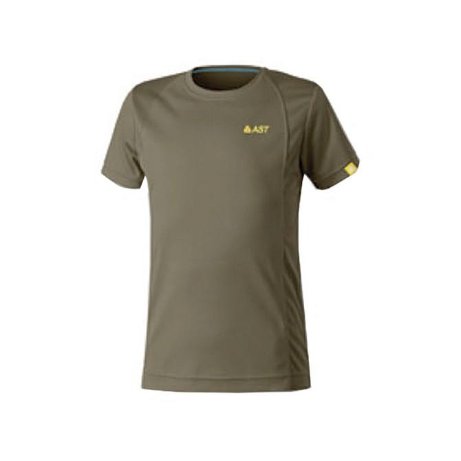 T-shirt trekking Astrolabio JP7U Junior verde oscuro