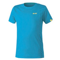 T-shirt trekking Astrolabio JP7U Junior light blue