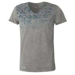 T-shirt Astrolabio CL9L Hombre gris