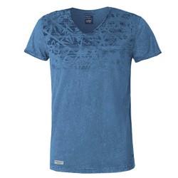 T-shirt Astrolabio CL9L Homme bleu