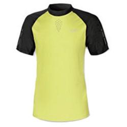 T-shirt running Astrolabio H67F Hombre amarillo