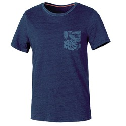T-shirt Astrolabio CL9N Hombre azul