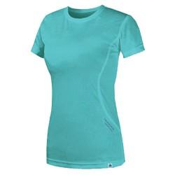 T-shirt trekking Astrolabio N38L Mujer azul claro