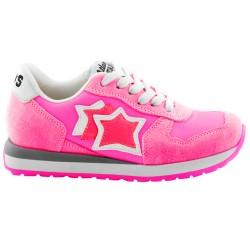 Sneakers Atlantic Stars Lynx Niña fucsia