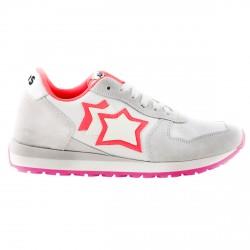 Sneakers Atlantic Stars Lynx Niña blanco-fucsia