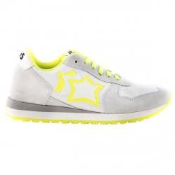 Sneakers Atlantic Stars Lynx Niño gris-amarillo