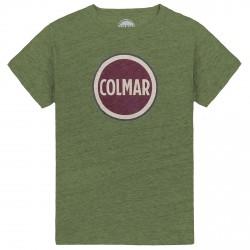 T-shirt Colmar Originals Mag verde melange