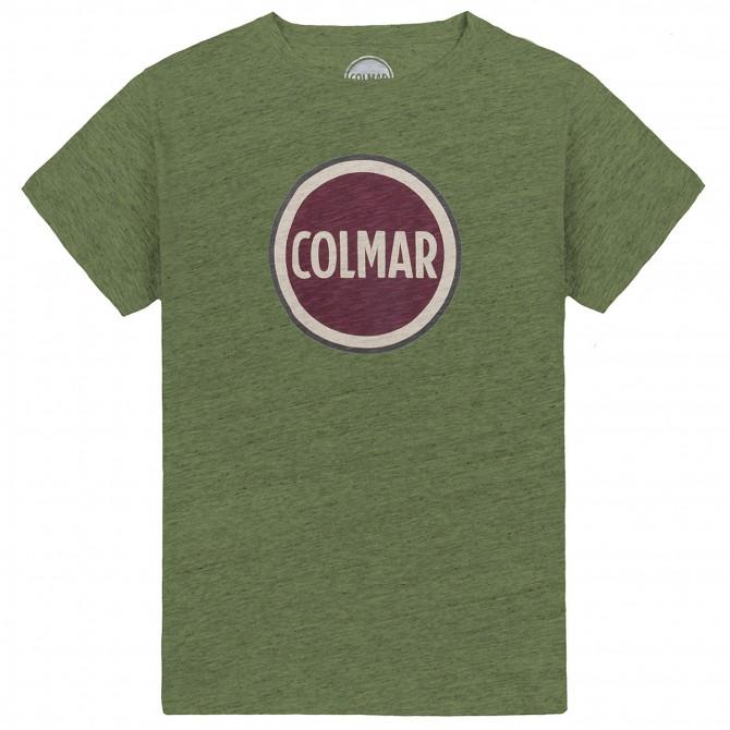 T-shirt Colmar Originals Mag Man green