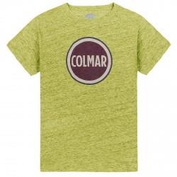 T-shirt Colmar Originals Mag senape melange