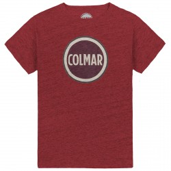 T-shirt Colmar Originals Mag Uomo bordeaux