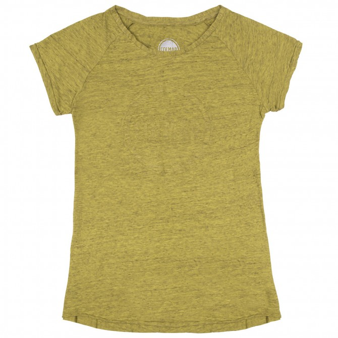 T-shirt Colmar Originals Mag Mujer amarillo