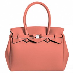 Borsa Save My Bag Miss salmone