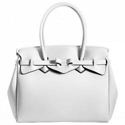 Borsa Save My Bag Miss avorio