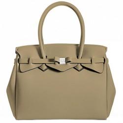 Bolsa Save My Bag Miss beige