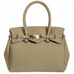 Borsa Save My Bag Miss beige