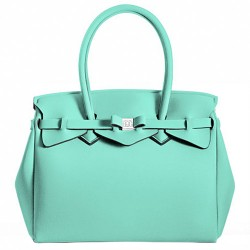 Borsa Save My Bag Miss verde acqua
