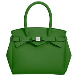 Borsa Save My Bag Petite Miss verde scuro