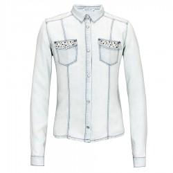 camisa denim Liu-Jo Shirt Girl