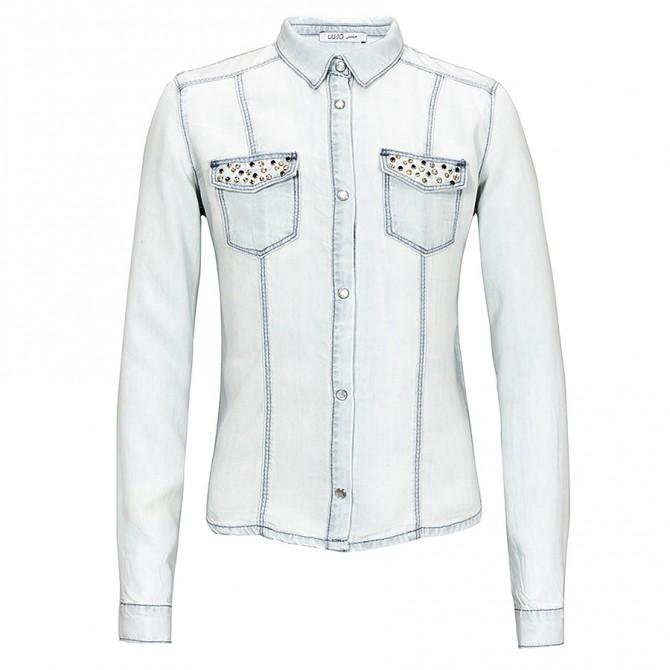 camicia denim Liu-Jo Shirt Girl