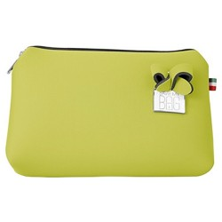 Pochette Save My Bag Fiocco grande lime