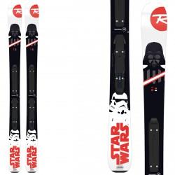 Esquí Rossignol Star Wars + fijaciones Kid-X 4 B76