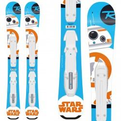 Sci Rossignol Star Wars Baby + attacchi Kid-X 4 B76