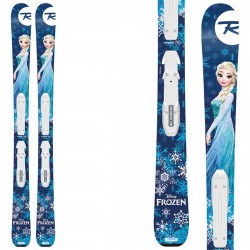 Ski Rossignol Frozen + bindings Kid-X 4 B76