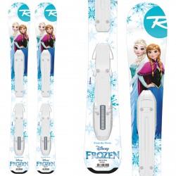 Ski Rossignol Frozen Baby + bindings Kid-X 4 B76