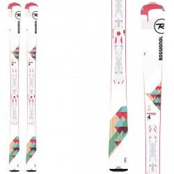 Ski Rossignol Famous 4 (Xpress) + fixations Xpress W 10 B83