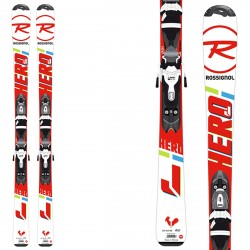 Esquí Rossignol Hero Jr 130-150 + fijaciones Xpress Jr 7 B83