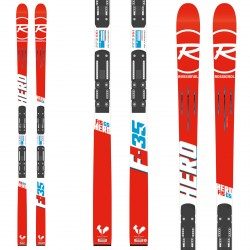 Sci Rossignol Hero Fis GS Factory (R21 WC) + attacchi Px18 WC Rockerflex