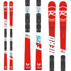 Ski Rossignol Hero Fis GS (R21 racing) + bindings Look SPX 12 RockerFlex