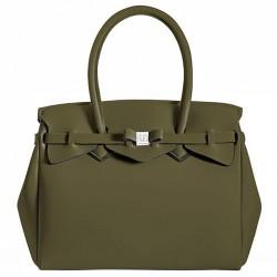 Borsa Save My Bag Miss kaki