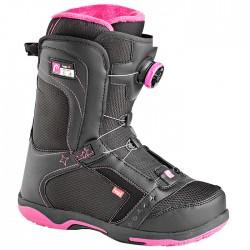 chaussures snowboard Head Galore Pro Boa noir-fuchsia femme