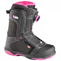 snowboard shoes Head Galore Pro Boa black-fuchsia woman