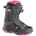 calzado snowboard Head Galore Pro Boa nigro-fucsia mujer