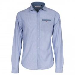 Camisa Canottieri Portofino Hombre rayas azul