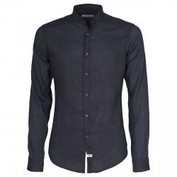 Shirt Canottieri Portofino Korean neck Man navy