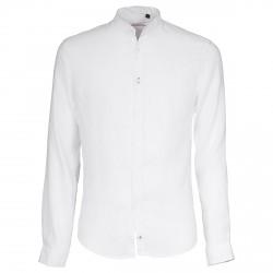 Camicia Canottieri Portofino alla coreana Uomo bianco