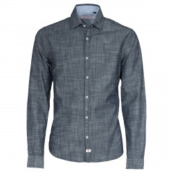 Camisa Canottieri Portofino Hombre azul
