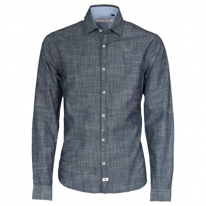 Camicia Canottieri Portofino Uomo Blu Blu
