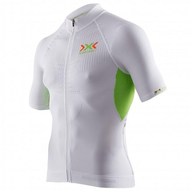Bike t-shirt X-bionic The Trick Man white-lime