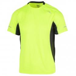 T-shirt trail running Cmp Uomo giallo fluo